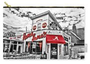 Shadow Of The Stadium - Hdr Selective Color Carry-all Pouch