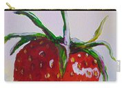 Single Strawberry Carry-all Pouch