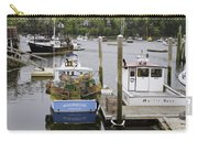 South Bristol And Fishing Boats On The Coast Of Maine Carry-all Pouch