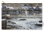 South Bristol On The Coast Of Maine Carry-all Pouch by Keith Webber Jr