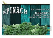 Spinach Patch Carry-all Pouch