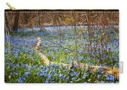 Spring Blue Flowers Wood Squill Carry-all Pouch