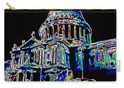 St Pauls Cathedral London Art Carry-all Pouch by David Pyatt
