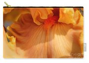 Tall Bearded Iris Named Penny Lane Carry-all Pouch