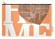 Tampa Street Map Home Heart - Tampa Florida Road Map In A Heart Carry-all Pouch