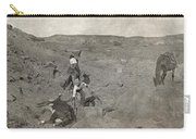 Texas Cowboys, C1907 Carry-all Pouch