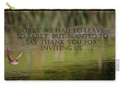 Thank You Carry-all Pouch