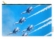 Thunderbirds And Blue Sky  Carry-all Pouch