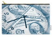 Time Is Money Concept Carry-all Pouch