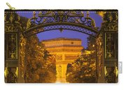 Twilight At Arc De Triomphe Carry-all Pouch