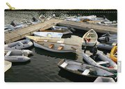 View Of Boats At A Harbor, Rockland Carry-all Pouch