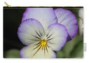 Viola Named Sorbet Lemon Blueberry Swirl Carry-all Pouch by J McCombie