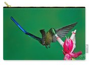 Violet-tailed Sylph Carry-all Pouch