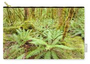 Virgin Rainforest Wilderness Of Fiordland Np Nz Carry-all Pouch