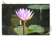 Pond Of Water Lily Carry-all Pouch