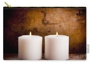 White Candles Carry-all Pouch