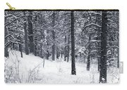 Winter In Pike National Forest Carry-all Pouch