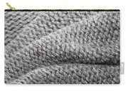 Wool Background Carry-all Pouch