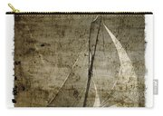 40 Sailboat - With Open Wings In A Grunge Background  Carry-all Pouch