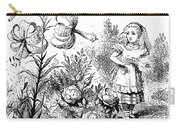 Carroll Looking Glass Carry-all Pouch