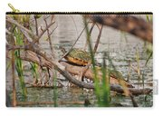 42- Florida Red-bellied Turtle Carry-all Pouch