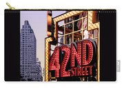 42nd Street New York City Carry-all Pouch