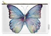 43 Blue Celestina Butterfly Carry-all Pouch by Amy Kirkpatrick