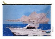 Storm Chasing On The High Seas Carry-all Pouch