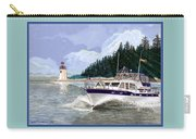 43 Foot Tollycraft Southbound In Clovos Passage Carry-all Pouch