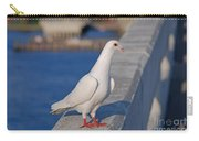 21- White Dove Carry-all Pouch