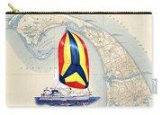 39 Foot Beneteau Cape Cod Chart Art Carry-all Pouch