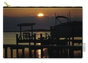 An Outer Banks Of North Carolina Sunset Carry-all Pouch
