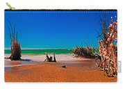 4x1 Florida Beach Panorama 732 Carry-all Pouch