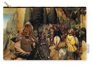 Irish Setter Art Canvas Print Carry-all Pouch