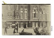 16th Street Baptist Church In Black And White With A White Vingette Carry-all Pouch