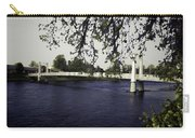A Wonderful Suspension Bridge Over The River Ness In Inverness Carry-all Pouch
