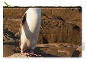 Adult Nz Yellow-eyed Penguin Or Hoiho On Shore Carry-all Pouch