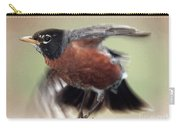 An Entertaining Baby American Robin Carry-all Pouch