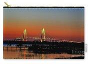 Arthur Ravenel Bridge Orange Glow Carry-all Pouch
