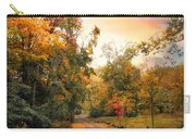 Autumn's Sunset Path Carry-all Pouch