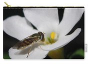 Bacopa Named Snowtopia Carry-all Pouch