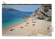 Beach In Legrena Carry-all Pouch