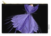 5 Blue Ballerina Carry-all Pouch