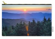 Blue Ridge Parkway Autumn Sunset Over Appalachian Mountains  Carry-all Pouch