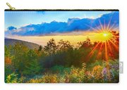 Blue Ridge Parkway Late Summer Appalachian Mountains Sunset West Carry-all Pouch