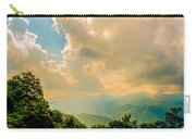 Blue Ridge Parkway Scenic Mountains Overlook Carry-all Pouch