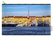 Boats At St.tropez Carry-all Pouch by Elena Elisseeva