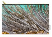Bull Kelp Blades On Surface Background Texture Carry-all Pouch by Stephan Pietzko