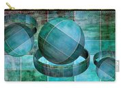 5 By 5 Ocean Geometric Shapes Carry-all Pouch