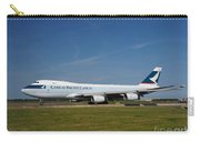 Cathay Pacific Boeing 747 Carry-all Pouch